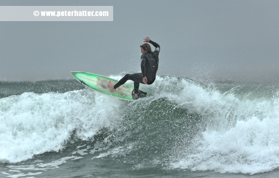 Surfing - Autumn - Woolacombe Water sport