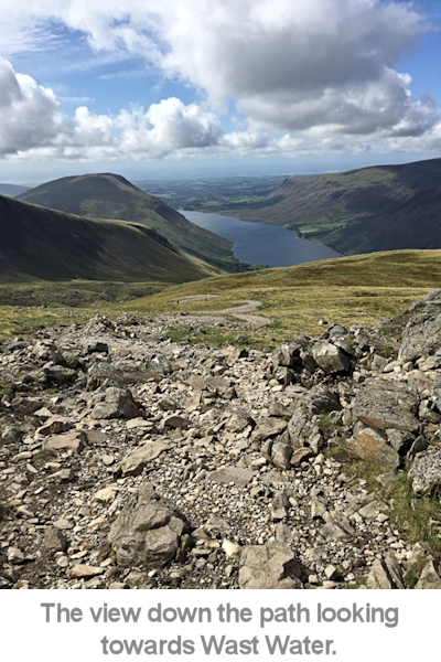 view towards wAst water